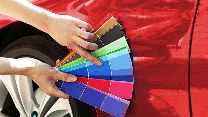 Таблица цветов OPEL