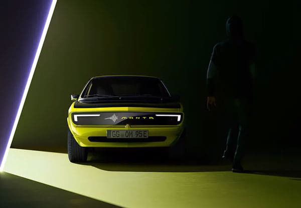 Скоро Opel Manta GSe: Opel возродил модель Manta