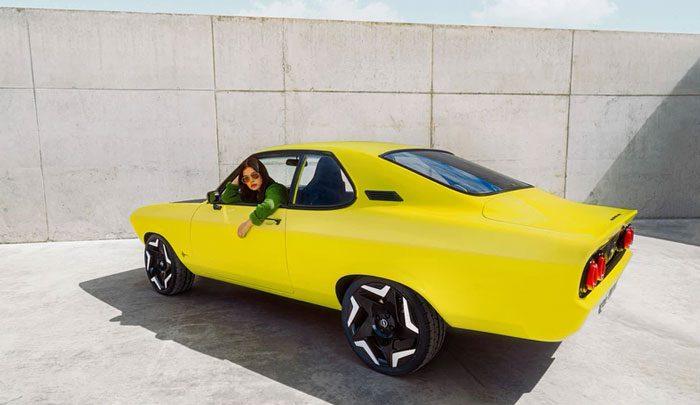 Opel Manta GSe ElectroMOD — электрическое реинкарнация легенды